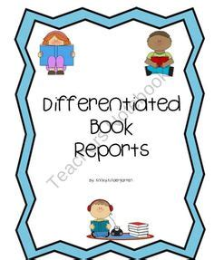 Book Reports: Reading Templates and Projects, Grading